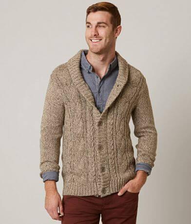 Trash Nouveau Marled Cardigan Sweater