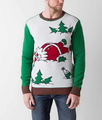 Ugly Christmas Sweater Santa Sweater
