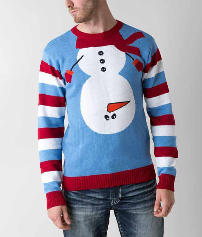 Ugly Christmas Sweater Snowman Sweater