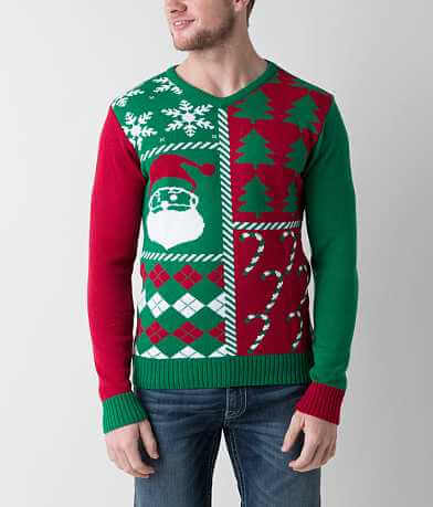 Ugly Christmas Sweater V-Neck Sweater