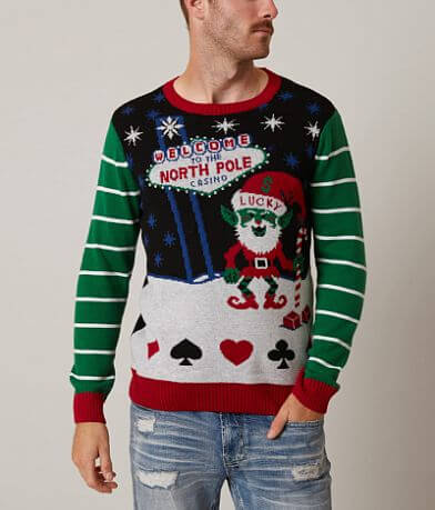 Ugly Christmas Sweater Vegas Martian Sweater