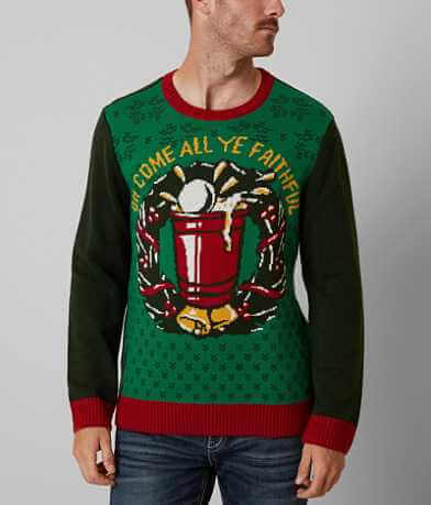 Ugly Christmas Sweater Come All Ye Sweater