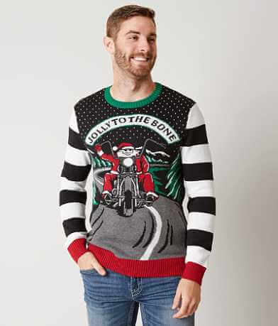 Ugly Christmas Sweater Jolly To The Bone Sweater