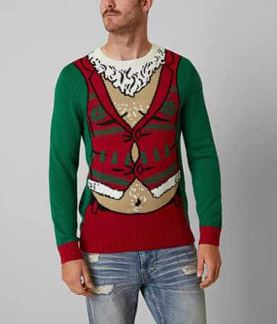 Ugly Christmas Sweater Fat Santa Sweater