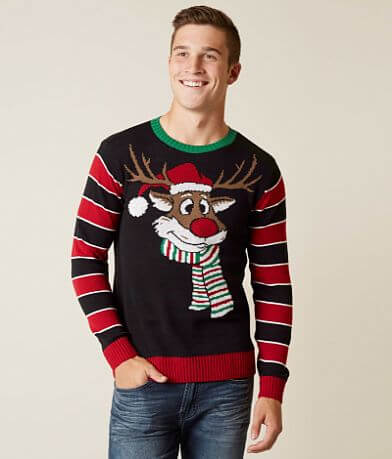 Ugly Christmas Sweater Reindeer Sweater