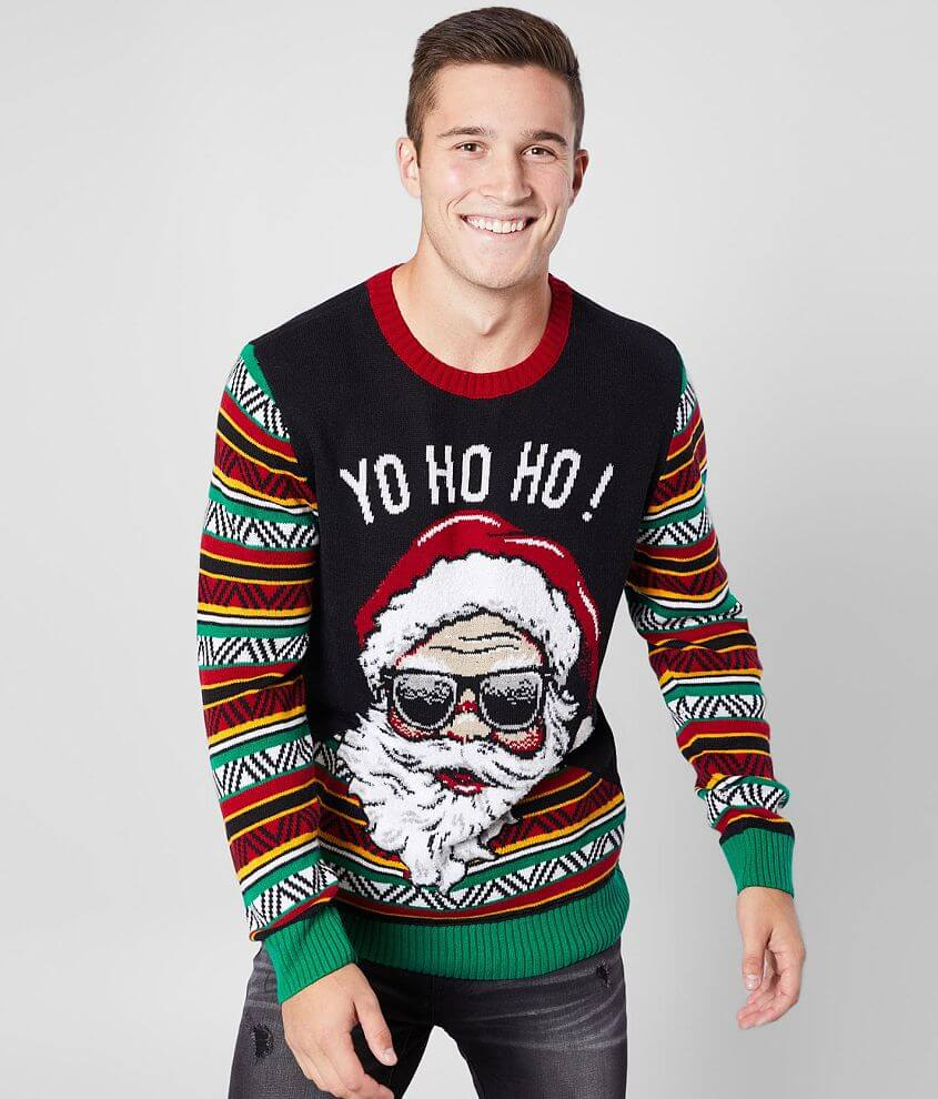 Ugly Christmas Sweater Santa Coogi Sweater front view