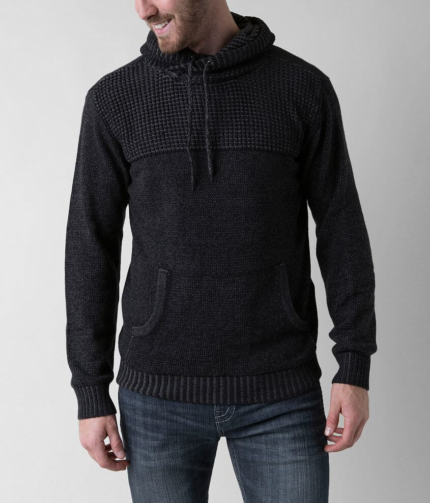 Retrofit Pullover Hooded Sweater front view