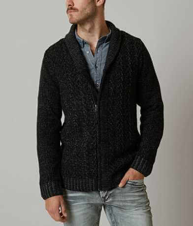 Retrofit Marled Cardigan Sweater