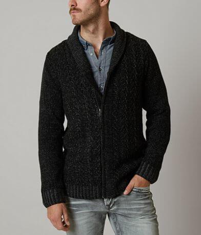 Retrofit Marled Cardigan Sweater