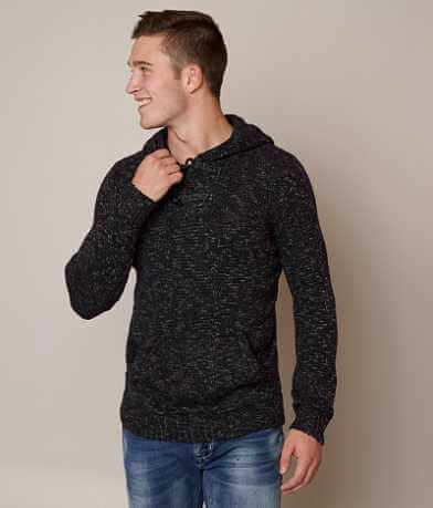 Retrofit Hooded Henley Sweater