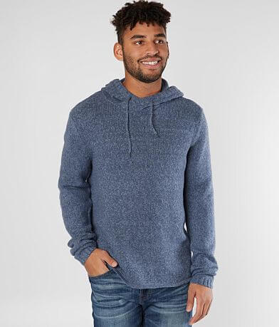 Retrofit Crossover Hooded Sweater