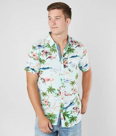 Retrofit Flamingo Shirt