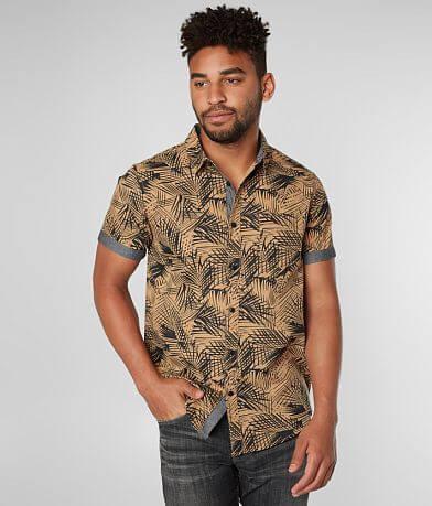 Retrofit Palm Leaf Woven Shirt