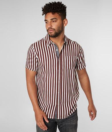 Retrofit Wide Stripe Woven Shirt