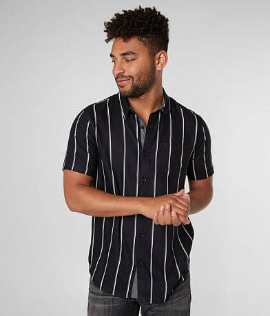 Retrofit Pinstripe Woven Shirt