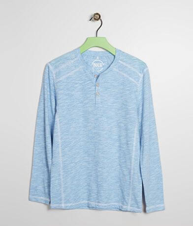 Boys - BKE Shoulder Block Henley