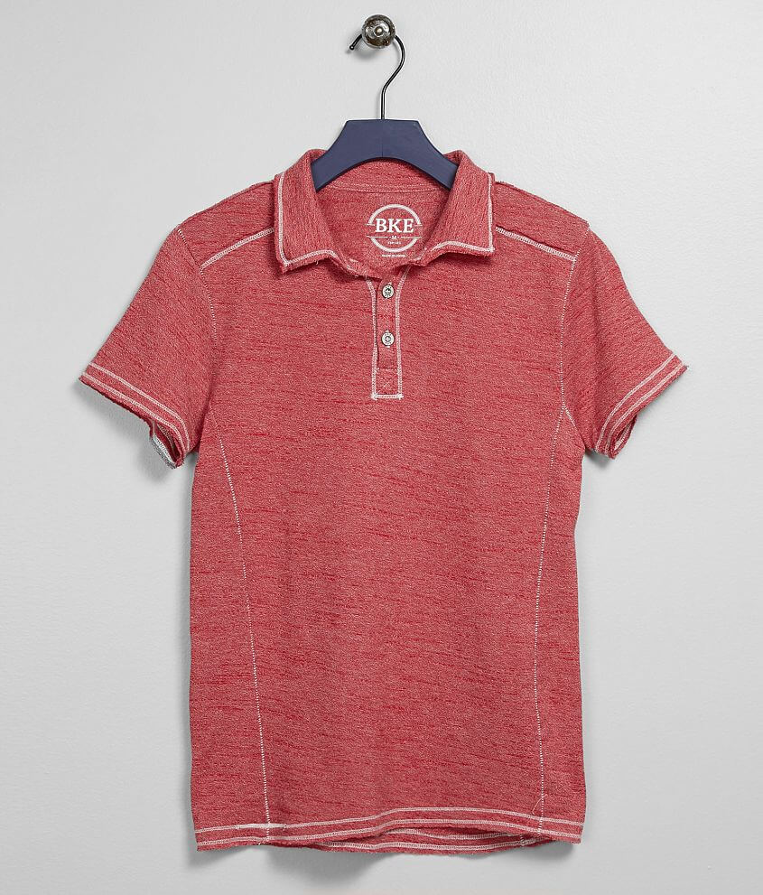 Boys - BKE Heathered Polo - Boy's Polos in Chili Pepper | Buckle