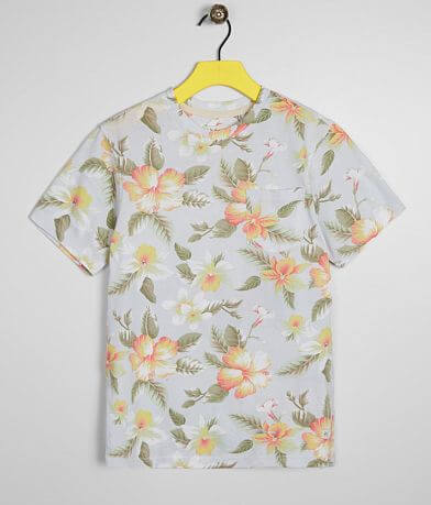 Boys - Departwest Floral T-Shirt