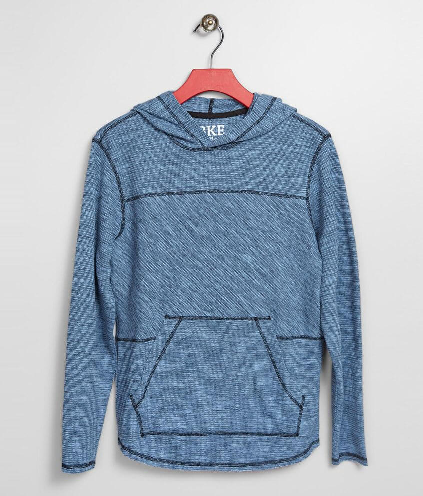 Boys - BKE Marled Knit Hoodie front view