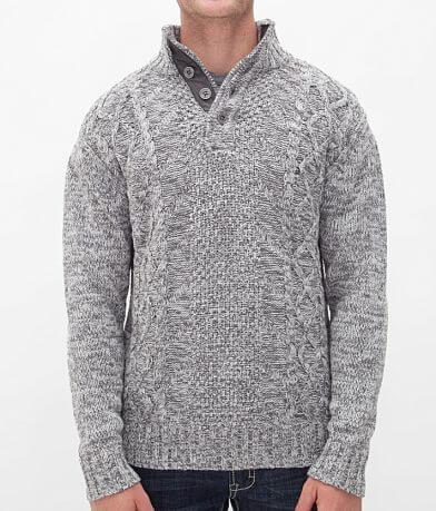 Buckle Black Polished Proud Henley Sweater