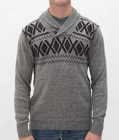 Buckle Black Polished Flying Sweater