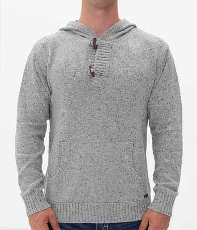 Buckle Black Polished Don't Henley Sweater