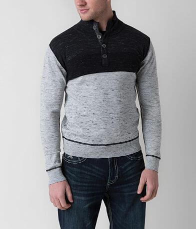 J.B. Holt Cypress Jefferson Henley Sweater