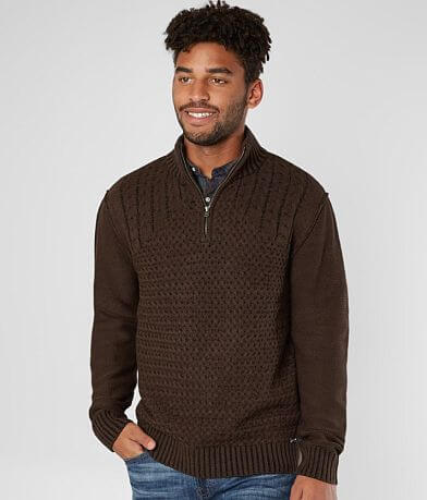 J.B. Holt Alexander Quarter Zip Sweater