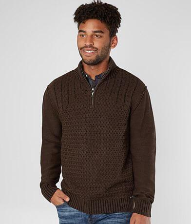 J.B. Holt Alexander Quarter Zip Sweater