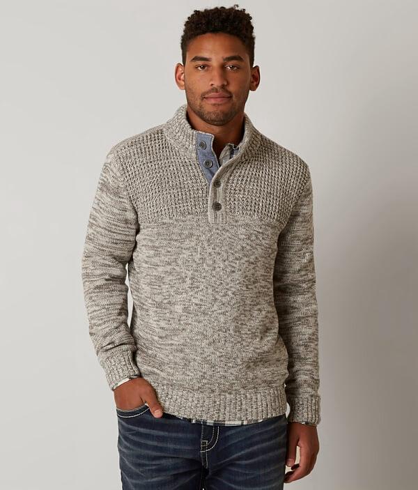 J Herman B Henley Sweater Holt qZrZBwnXp