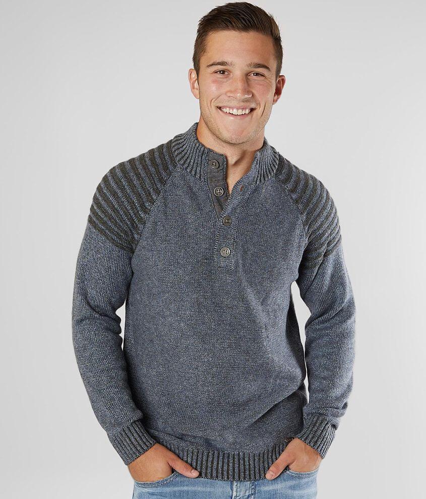 J.B. Holt Wilson Henley Sweater front view