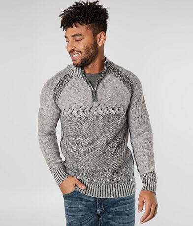 J.B. Holt Rhodes Quarter Zip Sweater