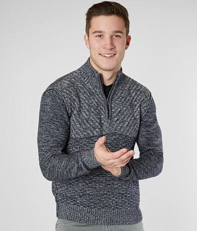 J.B. Holt Jaxon Quarter Zip Sweater