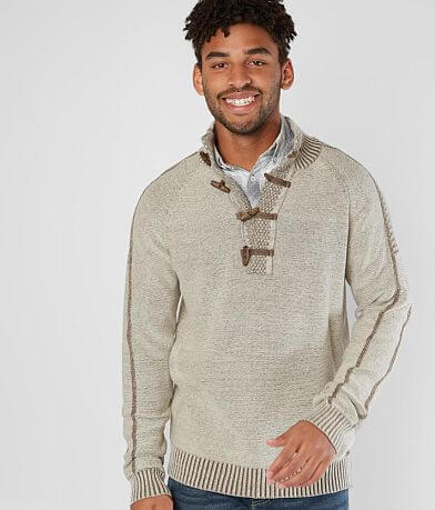 J.B. Holt Rapids Toggle Henley Sweater