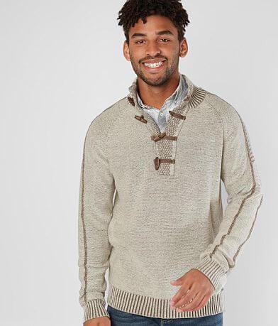J.B. Holt Rapids Toggle Henley Sweater