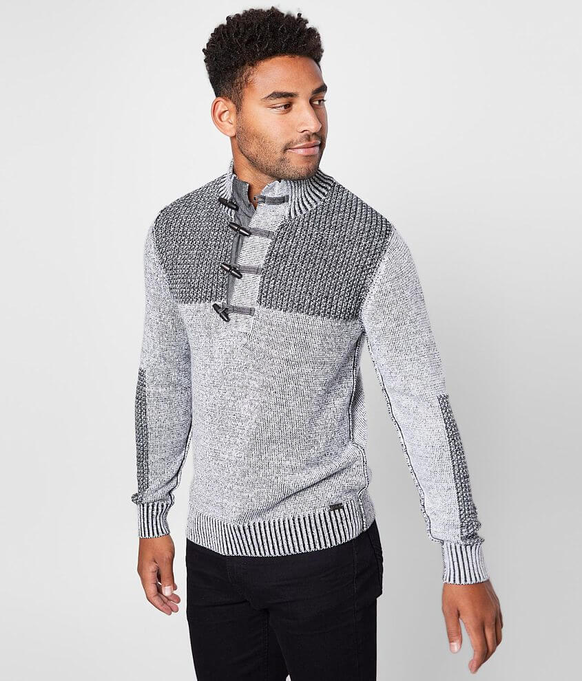 J.B. Holt Summit Henley Sweater front view