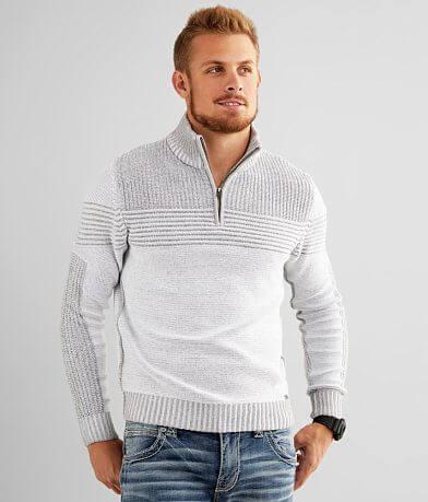 J.B. Holt Patrick Quarter Zip Sweater