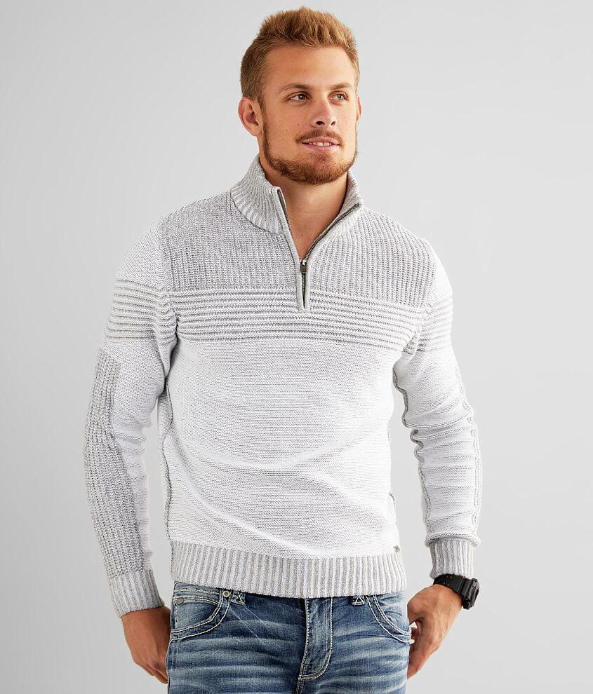 J.B. Holt Patrick Quarter Zip Sweater front view