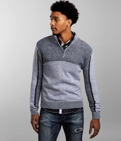 J.B. Holt Jaxon Quarter Zip Sweater