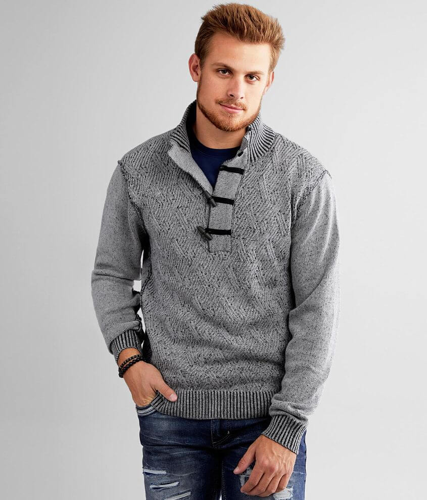 J.B. Holt Spring Toggle Sweater front view