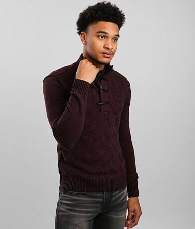 J.B. Holt Spring Toggle Henley Sweater