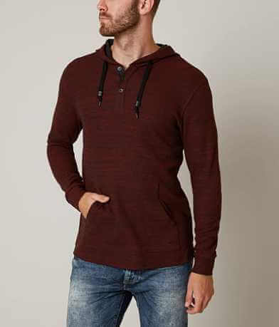 Outpost Makers Double Dye Thermal Henley Hoodie