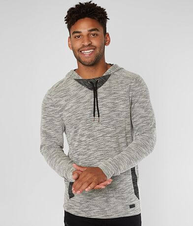 Outpost Makers Marled Knit Drop Tail Hoodie