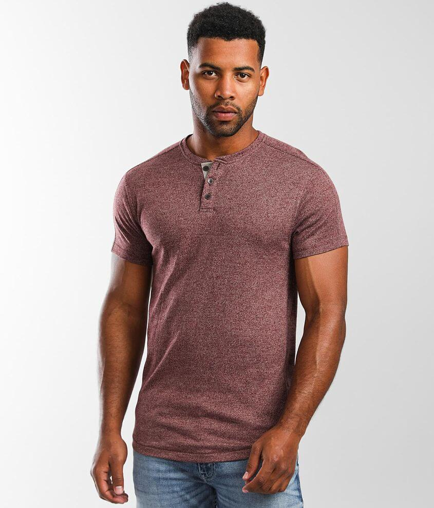 Outpost Makers Marled Henley front view