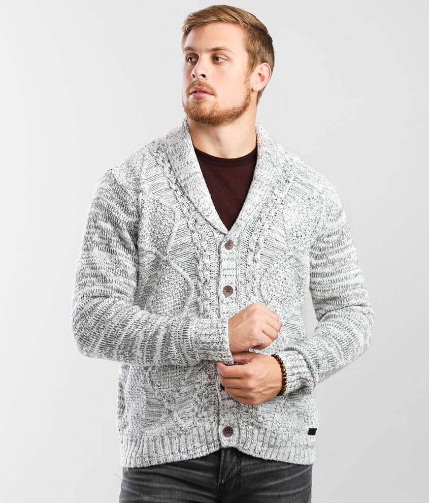 Outpost Makers Shawl Cardigan Sweater front view