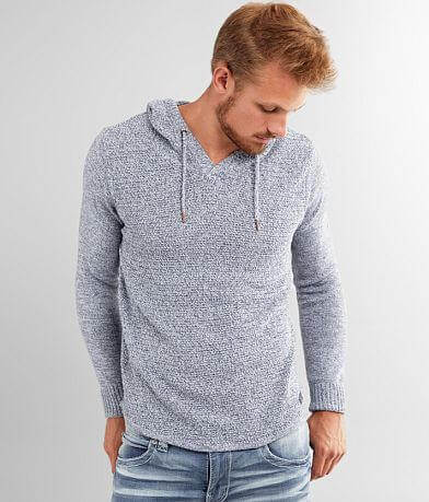 Outpost Makers Mixed Yarn Hooded Sweater
