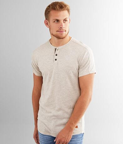 Outpost Makers Pieced Henley