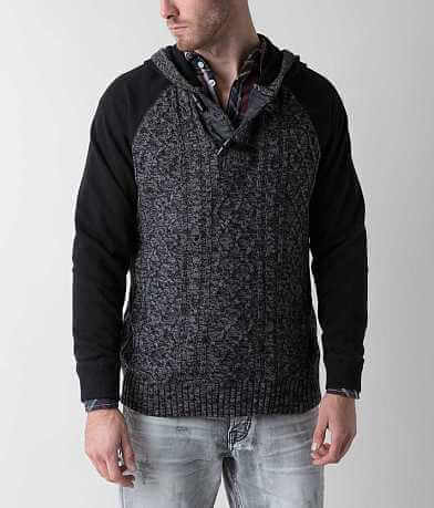 Outpost Makers Toggle Henley Sweater