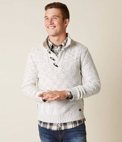Outpost Makers Double Dash Henley Sweater