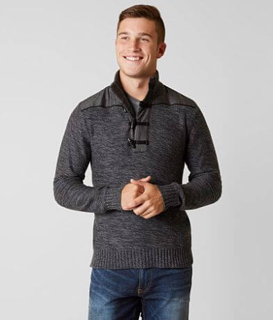 Outpost Makers Chambray Henley Sweater